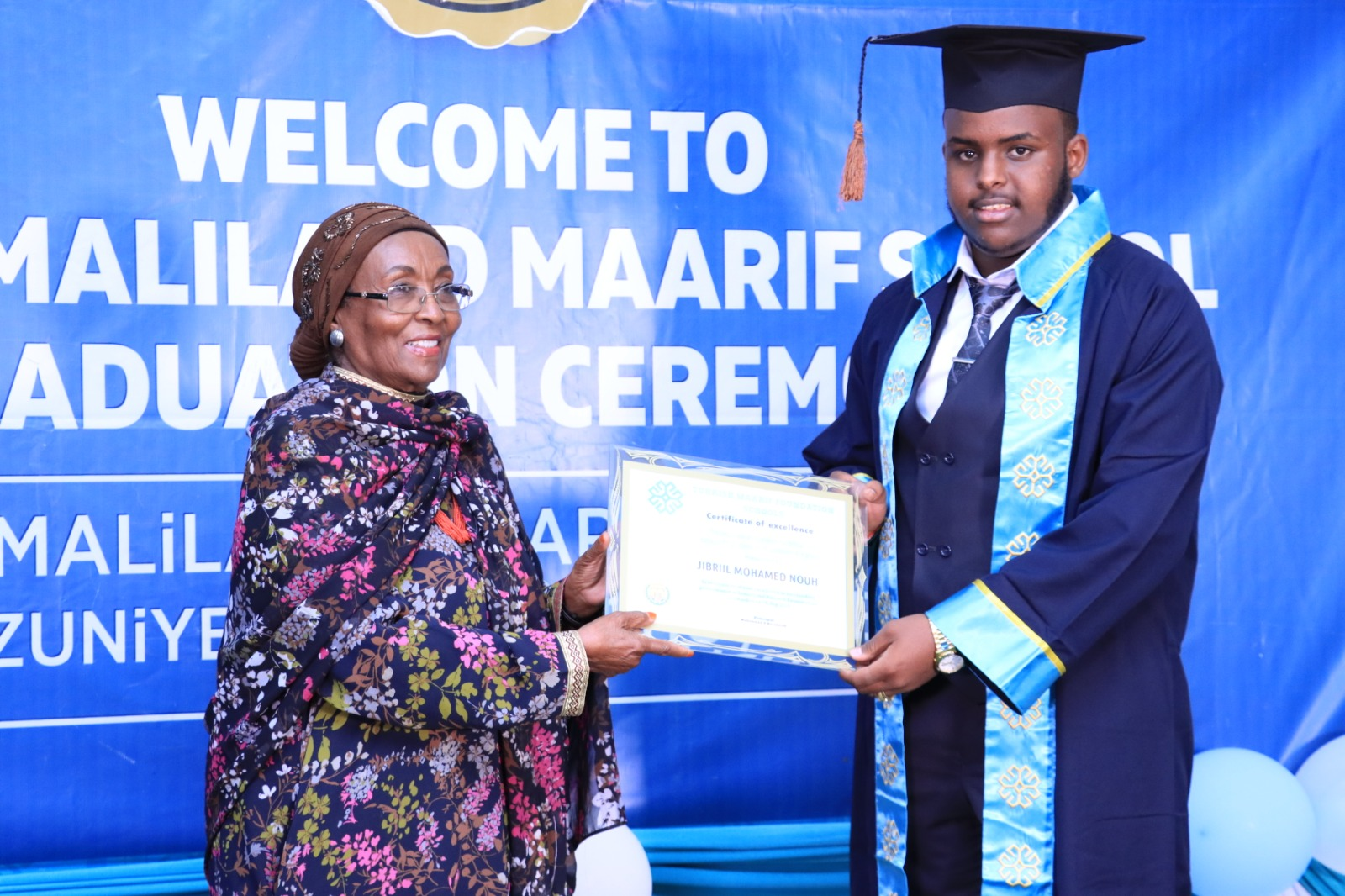 Great Success from Maarif Students of Somaliland