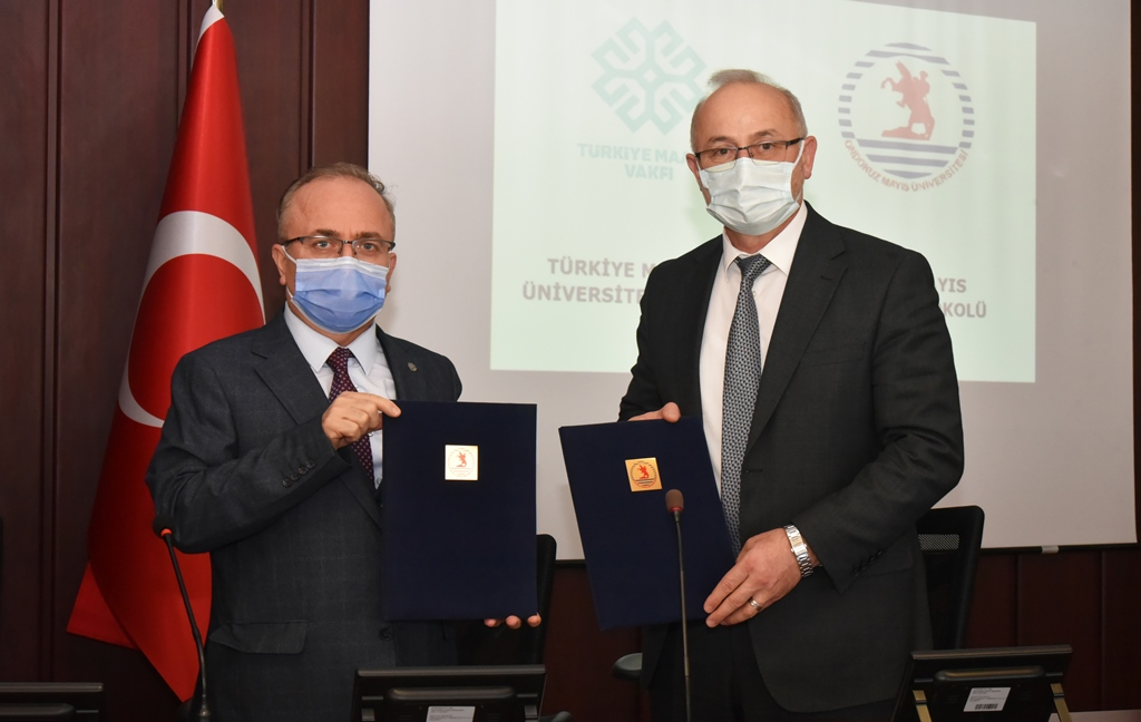 Cooperation Protocol Signed Between Turkish Maarif Foundation and 19 Mayıs University